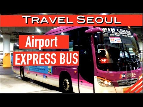 Seoul Express Bus a fast, affordable way to get to Incheon Airport!  @Amy Moncure