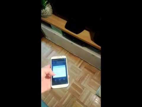 Samsung Galaxy S4 as a tv remote