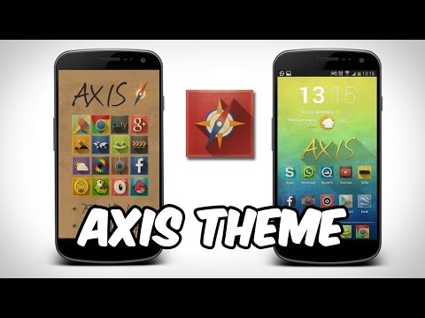 Personaliza tu Android con: Axis Theme - AndroideHD
