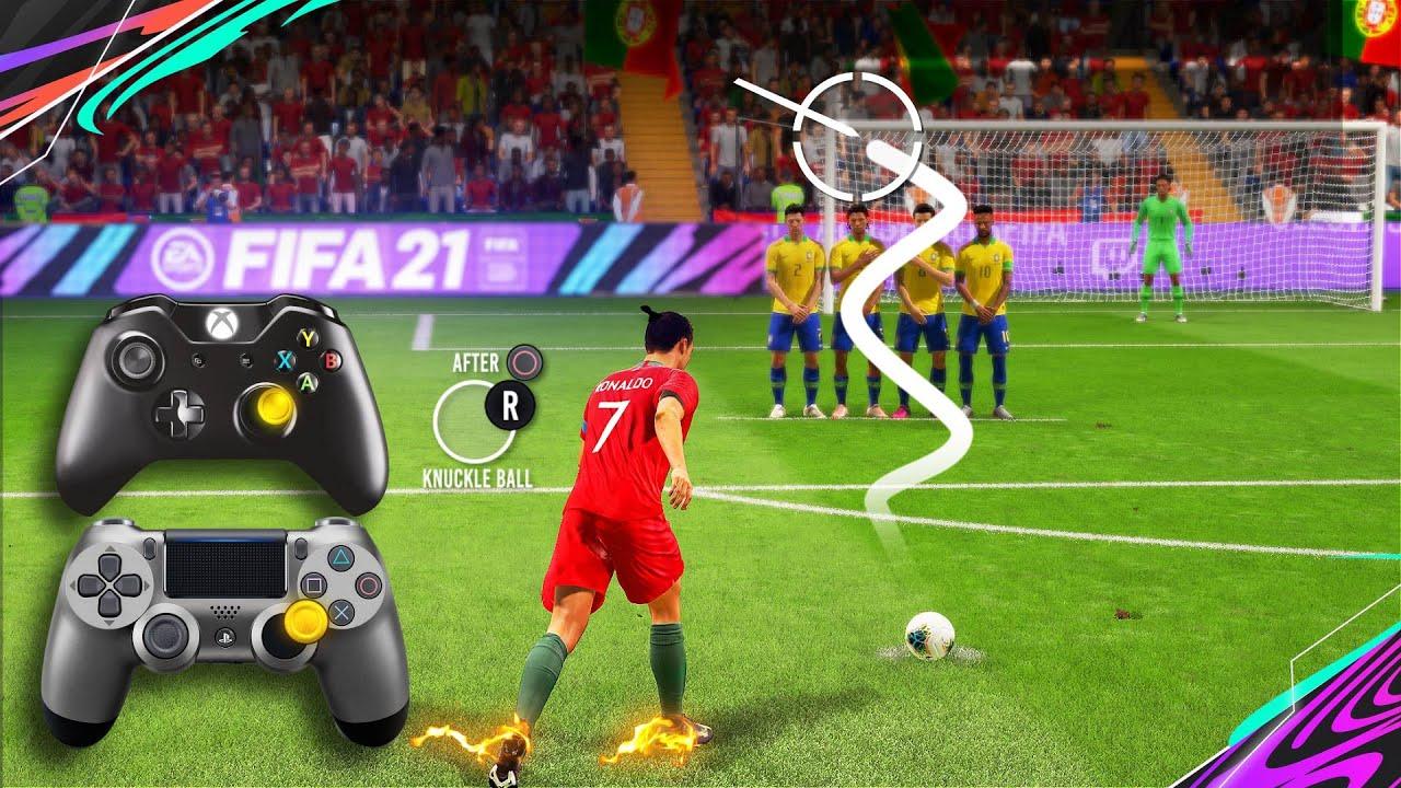 FIFA 21 Knuckleball/Power Free Kick Tutorial