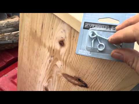 Screech Owl Nest Box Build