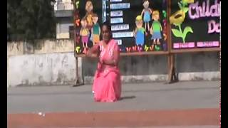 chitra mam dancing on Children