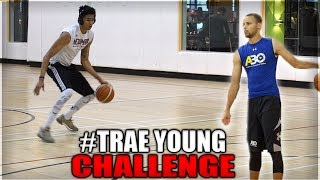 STEPH CURRY/TRAE YOUNG CHALLENGE! Why I
