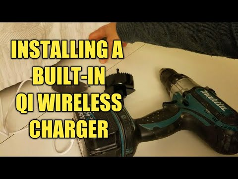 Installing a Built-In Qi Wireless Charging , Demo and Review