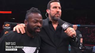 Bellator 197: Baby Slice - Post-Fight Interview with Big John McCarthy