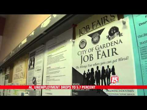 Alabama Unemployment Drops to 5.7 Percent