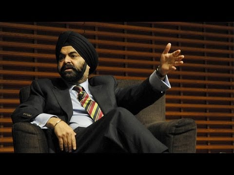 MasterCard CEO Ajay Banga on Taking Risks in Your Life and Career