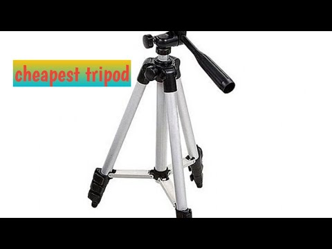 Unboxing of tripod|microphone|mobile stand|How assemble tripod