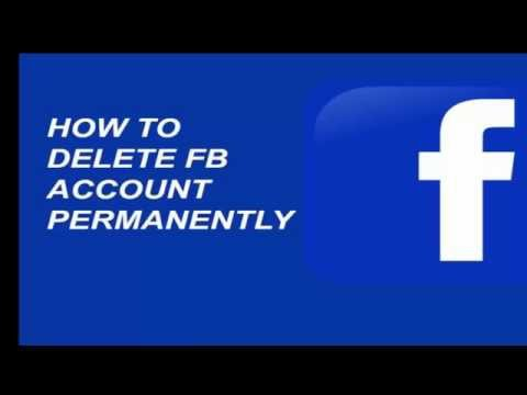 How to Permanently Delete Fb Account (SuperEasy Trick )