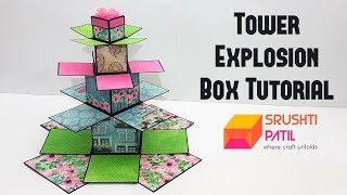 Tower Explosion Box Tutorial by Srushti Patil