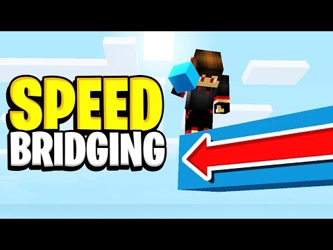 Faster than GOD BRIDGING Method in BEDWARS (FASTEST BRIDGING METHOD)