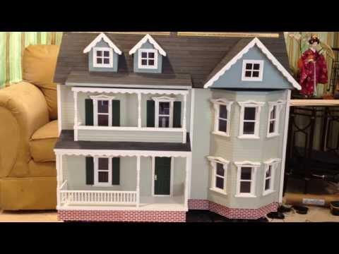 Melissa and Doug Katherine Dollhouse Kit Completed Build