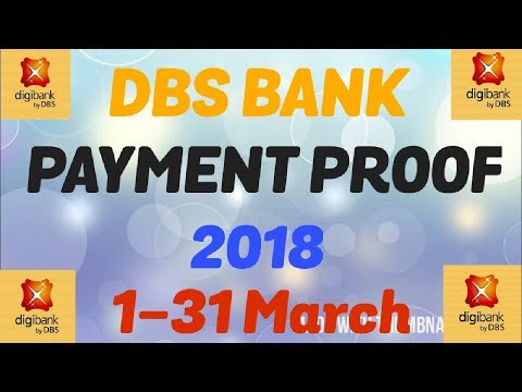 DBS BANK PAYMENT PROOF 4000 PER MONTH
