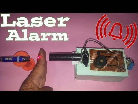 Laser Light Security Alarm (Science Project)