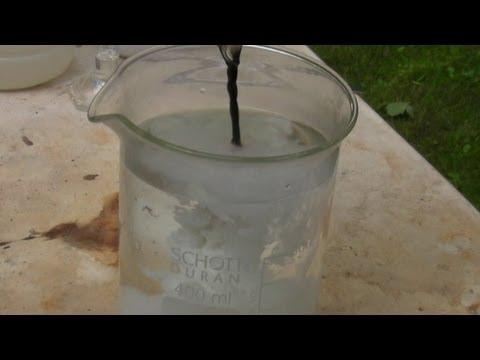 Darstellung von Kupfer(I)-Chlorid (Preparation of copper(I) chloride)