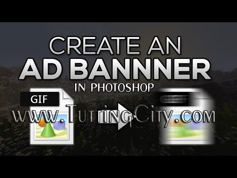 How to Create Animation Banner in Photoshop