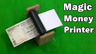 How to Make a Money Printer Machine - Fun Magic Trick