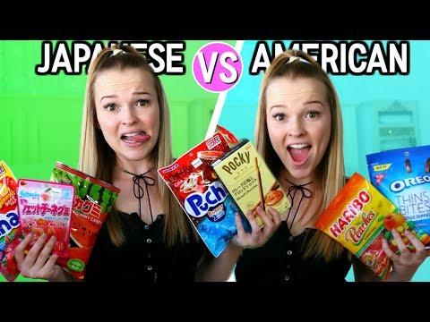 JAPANESE VS. AMERICAN CANDY!
