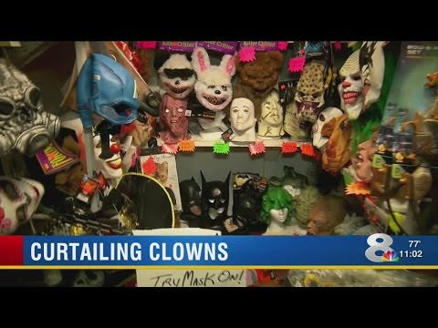 People buy clown costumes despite recent threats, reports