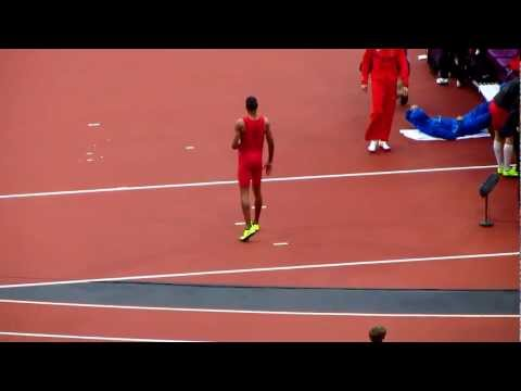 London 2012 Olympics Track and Field, Mens High Jump and Womens Long Jump