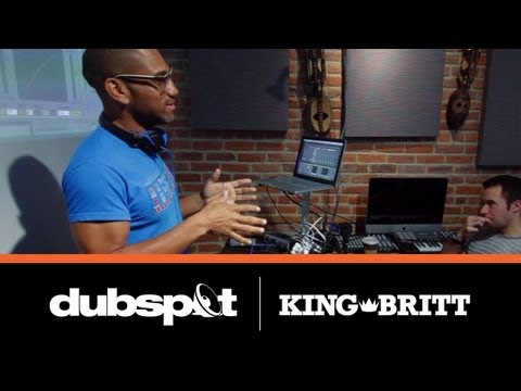 King Britt Dubspot Workshop! Ableton Live Tutorial / Creating Sample Packs 'Fragments'