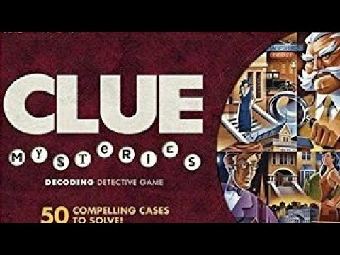 Ep 153: Clue Mysteries Board Game Review (Parker Brothers 2005)