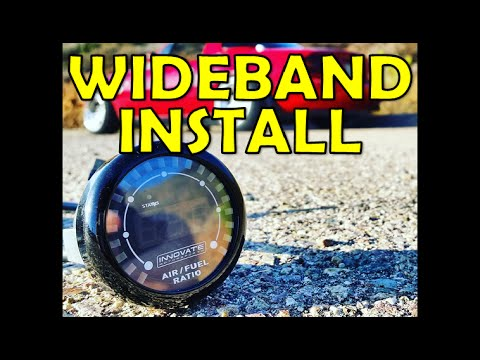 How to Install a Wideband o2 Sensor! (Broke & Boosted Ep2)