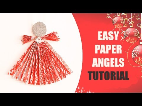 Tutorial For Easy Paper Angels