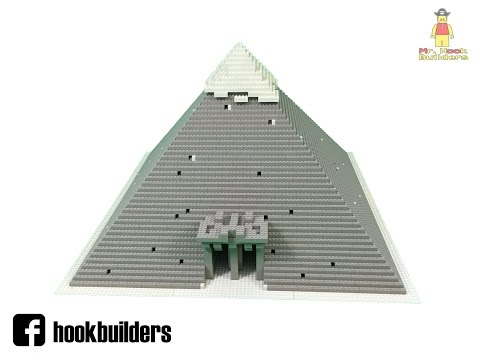 LEGO Pyramid (Time-lapse build + some pics)
