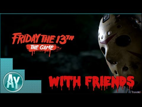 Friday The 13th The Game: Getting REKT by Grocery Bag Jason!