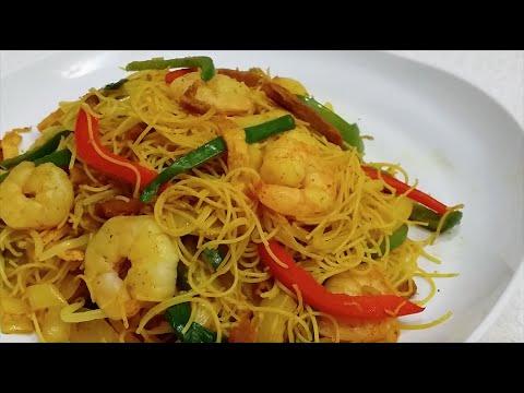 How to Make Singaporean Fried Rice Noodles ( Healthy Version ) | 星洲炒米 ( 健康版 )