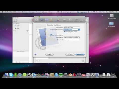 How to get hotmail to work with mac's mailing app!!!