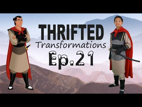 Thrifted Transformations | Ep. 21 DIY Shang costume from