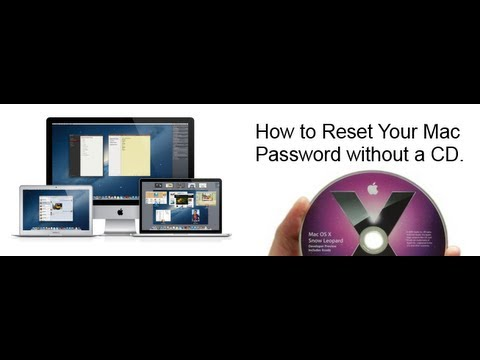 How to Reset Your Mac Password without a CD