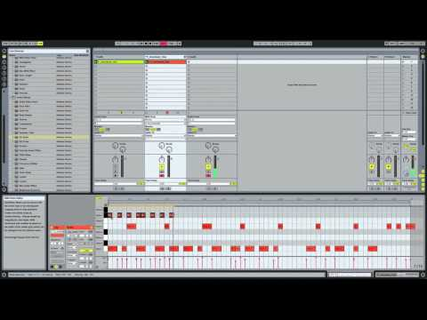 How to make a Hip Hop Drum Groove in Ableton Live