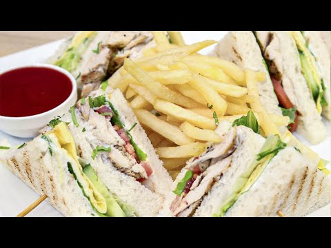 Club Sandwich Recipe - SooperChef
