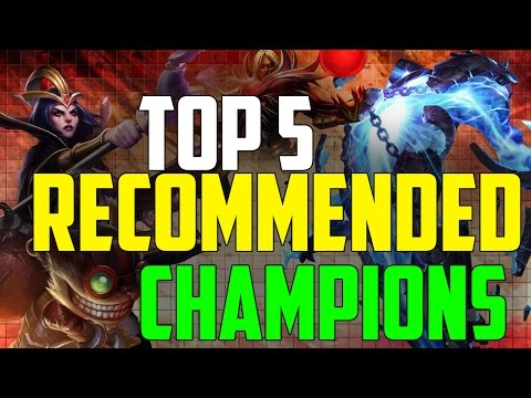 The 5 Champion's you should own! - Season 5: League of Legends |Outdated|