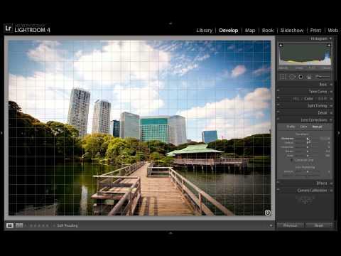 Lightroom Tutorial: Lens Vignette and Distortion Correction Using Lens Profiles