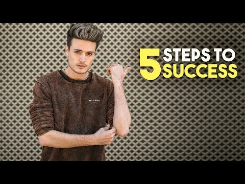 5 Steps To Success | How To Be Motivated To Succeed | BluMaan 2018