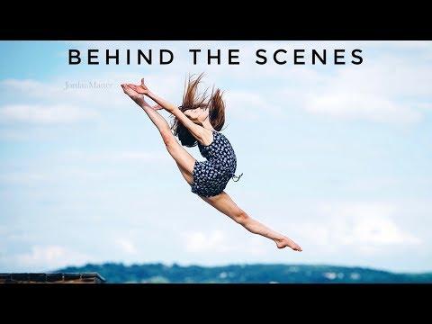 Behind the Scenes Jordan Matter Photoshoot