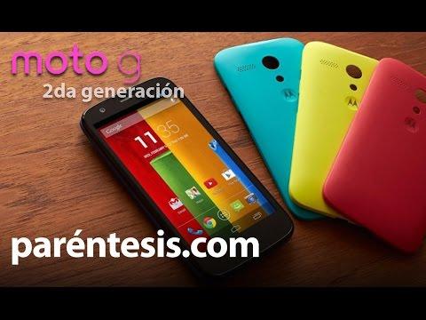 Moto G Segunda Generación, review en español