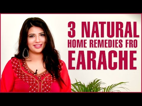 3 Best Home Remedies TO GET RID OF EAR PAIN(EARACHES)