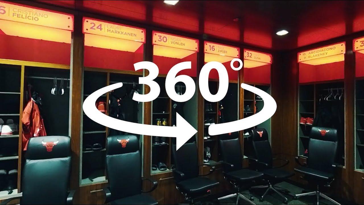 Chicago Bulls Locker Room - 360 video