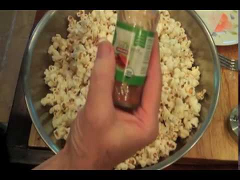 BACON POPCORN STOVE TOP  home made  Fast Easy Delicious Recipe