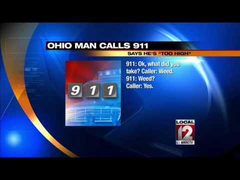 Ohio man calls 911, says he's