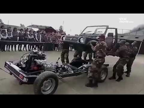 Indian army's mechanical skills -  Best in the World