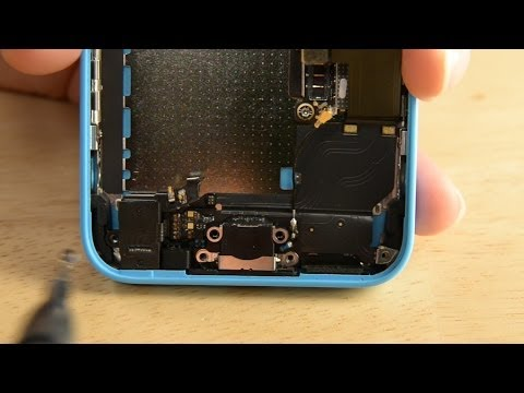 How To: Replace the Lightning Connnector in your iPhone 5c