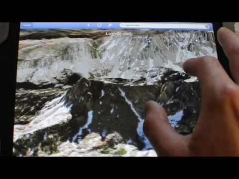 Google Earth on the iPad