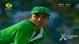 Pakistan vs India - Saeed Anwar's 194 runs in Independence Cup Match at Chennai 1997