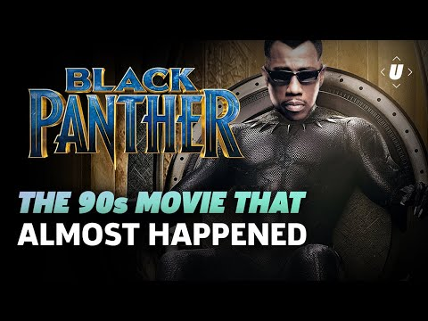 The Black Panther Movie That Almost Happened!